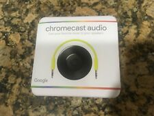 🔥Google Chromecast Audio Media Streamer -Black - 🔥Brand New!
