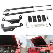 Front Hood Lift Support Struts Hydraulic Rod Accessory for Jeep Wrangler JL JLU
