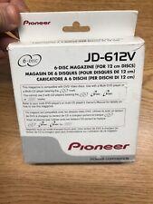 Pioneer JD-612V 6 Disc CD Changer Magazine