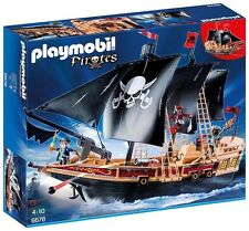 "PLAYMOBIL 6678 grandi galleggianti PIRATA Raiders ""nave con 3 PIRATI"