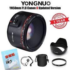 Yongnuo YN 50mm F/1.8 II AF MF Prime Fixed EF Lens for Canon DSLR New Version