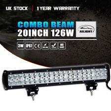 WOW ! 20 Inch 126W CREE LED Spot Flood Combo Driving Work Light Bar ATV UTE Boat