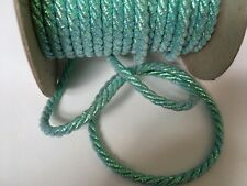Metallic Lurex Twisted Cord Rope 16mm All Colours Available