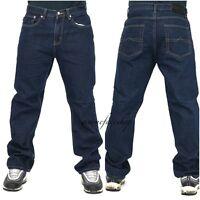 Mens Georgio Peviani jeans, indigo g denim, straight, loose fit hiphop star pant