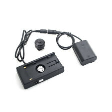 NP-FZ100 Power Dummy Battery W/F970 battery Adapter Mount Plate Adapter For Sony