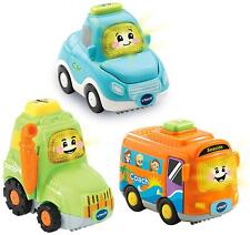 Vtech TOOT-TOOT DRIVERS 3 CAR PACK EVERYDAY VEHICLES Toys Games Pre-School BNIP