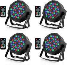 YeeSite 36LED Stage Lights, RGB DJ LED Par Can, Remote and DMX Control, Sound Ac