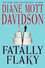 FATALLY FLAKY Diane Mott Davidson stated 1st Ed 2009 Mystery Hardcover & Jacket
