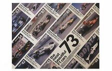 POSTCARD 'Formula One' Exhibition Poster F1 Cars 2006 Design Museum MINT