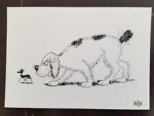 DUBOUT les chiens carte postale (D39) état neuf