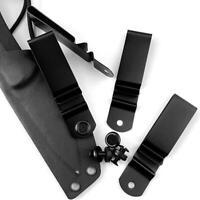 Verbesserter praktischer Metall-Federgürtel-Holster-Scheidenclip für Kydex