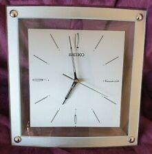 Seiko Square Wall Clock - model QXA330S - FREE DELIVERY - NO RESERVE