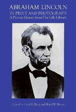 ABRAHAM LINCOLN IN PRINT AND PHOTOGRAPH 1997 PB +Extras