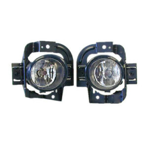 Fog Light Kit for Nissan X-Trail T30 10/2001-08/2007 W/Wiring&Switch