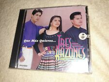 Tres Razones Cd Fonovisa Sellado 1995