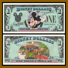"Disney 1 Dollar, 1988 Series ""DA"" Walt Disney World Uncirculated"