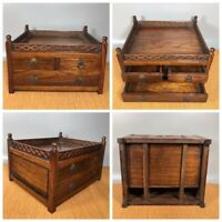 china antique furniture hidden stash safe compartment box storage wooden chest