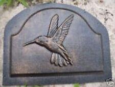Hummingbird plastic mold plaque rapid set cement all mould