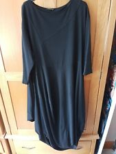 Black maxi lagenlook dress