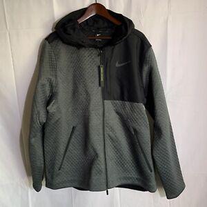 NEW Nike Therma Sphere Max Full Zip Jacket Gray/Black BV3998-070 Mens Size XXL