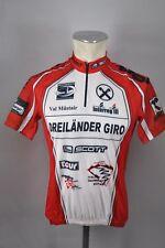 Tres países giro Scott bicicleta Cycling Jersey bike rueda maillot rojo talla s 51cm b7
