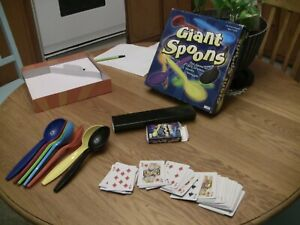 Giant Spoons Game from Patch 2004 90% Complete Cards