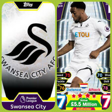 Swansea City Football Trading Cards & Stickers (2017-2018 Season