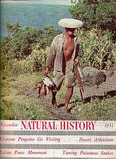 Natural History set Oc 50 Nov 1951 Mar 52 Cobra Woman Head Hunters Minstrel Show
