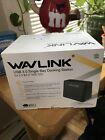 WAVLINK USB 3.0 Single Bay External Hard Drive Docking StationModel-WL-ST333U