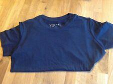 T-shirt Hanes bambino 9-10 anni blu,eliminazione,sport,grest,calcio,recita