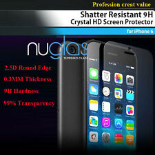 2x GENUINE NUGLAS Tempered Glass Screen Protector For Apple iPhone 6 6S Plus