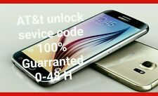 Samsung Galaxy S3 S4 S5 S6 S7 S8 AT&T FACTORY UNLOCK CODE SERVICE Note 2 3 4 5