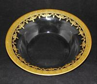 """Arte Italica VETRO GOLD  Soup or Pasta Bowl, Platter Gold Encrusted Swags 8 3/4"""""""