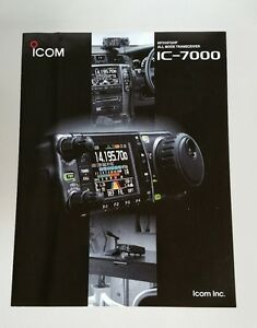 2005 Icom IC-7000 Radio Retail Catalog Brochure