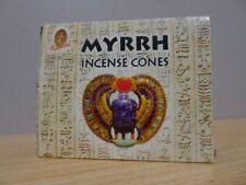 Myrrh - Incense Cones  1 Box of 10  Kamini  Free Post AU