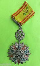 Médaille  de 1ère classe de l'ordre du NICHAM  IFTIKHAR, Tunisie