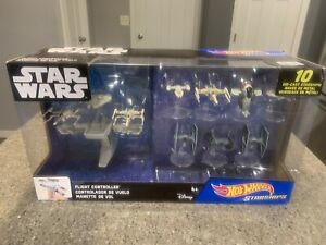 STAR WARS HOT WHEELS  Starships. Millennium Falcon, x-wing, Tie fighters Disney