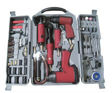 77PC Heavy Duty Power Kit de herramienta de pistola de aire Llave de Trinquete Hexagonal Zócalo Martillo Amoladora