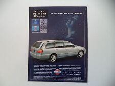 advertising Pubblicità 1998 NISSAN PRIMERA WAGON