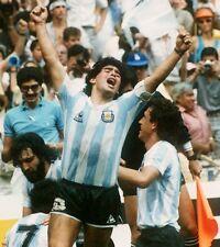 AFFICHES DIEGO ARMANDO MARADONA PIBE 10 NAPOLI ARGENTINA SOCCER FOOTBALL #4