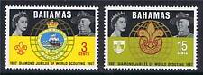 Bahamas 1967 World Scouting SG 310/1 MNH