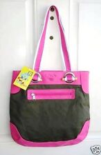 AUTH. BNWOT ROXY (GREEN/PINK) TRACK KISS SHOULDER TOTE BAG