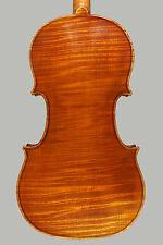 A fine certified Italian violin by Cesare Magrini, Ansaldo Poggi copy,SUPERB!