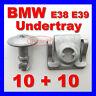 BMW E38 E39 5 7 ENGINE UNDERTRAY TRIM CLIPS SPLASHGUARD SHIELD BOTTOM COVER