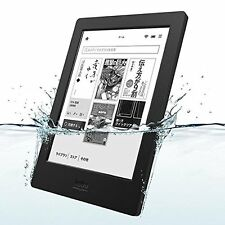 Kobo Aura H2O Waterproof eReader Wi-Fi 6.8'' 4 GB Black Touchscreen Japan New