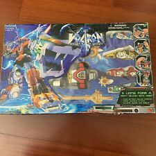 Rare Vintage Voltron 5 Lions Robot Warrior New 1997 Megazord Ranger Toys Power