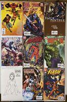 Michael Turner Comic Lot | 9 Issues | (Marvel & DC)