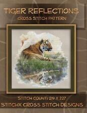 Tiger Reflections Cross Stitch Pattern by Tracy Warrington (2014, Paperback)