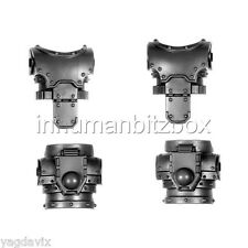 SM311 TORSE x2 SPACE MARINE MK3 WARHAMMER 40000 BITZ W40K BURNING PROSPERO 21-22
