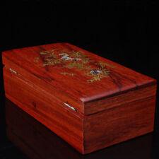 Wooden Box Handmade Trinket Storage Keepsake Jewelry Name Card Holder Gift Box